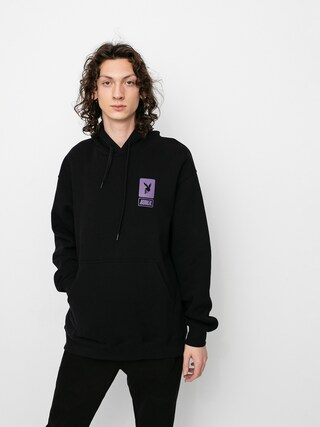 Mikina s kapucí Koka Robbery HD (black)