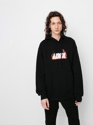 Mikina s kapucí Koka Fire HD (black)