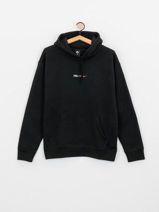 Mikina s kapucí Nike SB Bee HD (black/white)