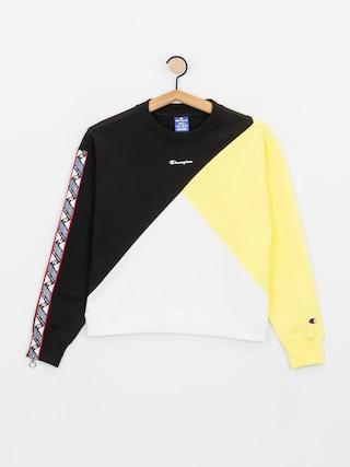 Mikina Champion Crewneck Sweatshirt 112759 Wmn (nbk/lml/wht)