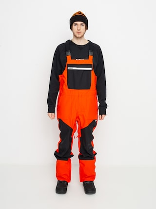 Snowboardovu00e9 kalhoty  ThirtyTwo Basement Bib (orange)