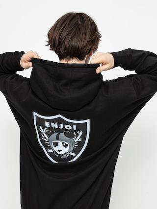 Mikina s kapucí Enjoi Oaktown HD (black)