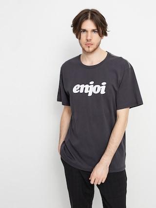 Tričko Enjoi Flocked Premium (vintage black)
