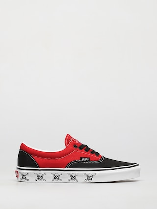 Boty Vans Era (new varsity black/high risk red)