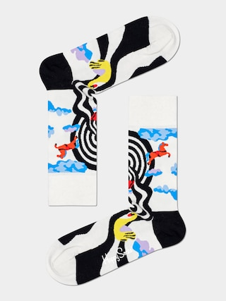 Ponožky Happy Socks Circus (white)