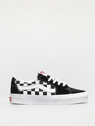 Boty Vans Sk8 Low (canvas/suede black/checkerboard)