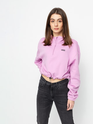 Mikina Vans Left Chest Half Zip Wmn (orchid)