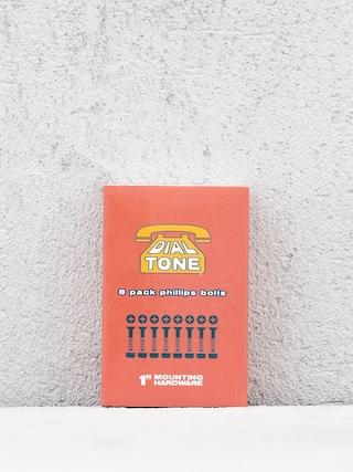 u0160roubky Dial Tone Matchbook Bolts Phillips (orange)