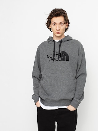 Mikina s kapucu00ed The North Face Light Drew Peak HD (tnf medium grey heather/tnf black)