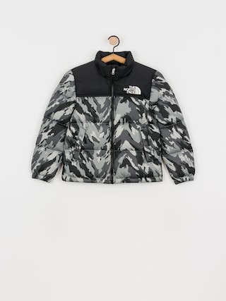 Bunda The North Face Youth 1996 Retro Nuptse (camouflage grigio)
