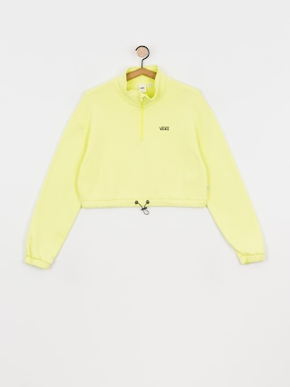 Mikina Vans Left Chest Half Zip Wmn (sunny lime)