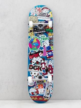 Skateboard DGK Stix (blue/multi)