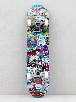 Skateboard DGK Stix (teal/multi)