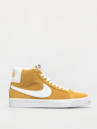 Boty Nike SB Zoom Blazer Mid (university gold/white university gold)