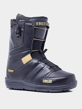 Boty na snowboard Northwave Freedom Sl (black rubber)