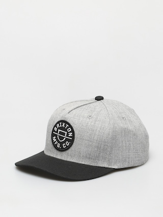 Ku0161iltovka  Brixton Crest C Mp Snbk (heather grey/black)
