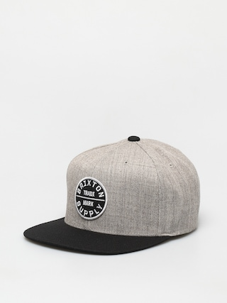 Ku0161iltovka  Brixton Oath III Snapback (light heather grey/black)