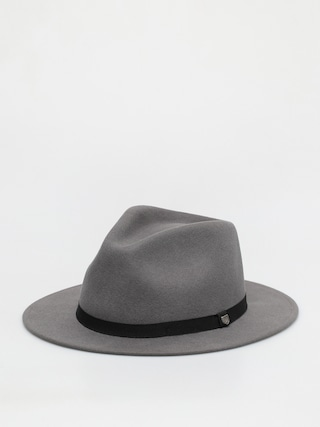 Klobouk Brixton Messer Packable Fedora (charcoal)