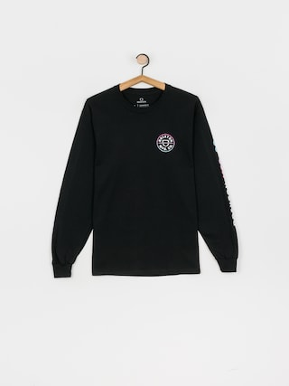 Triko Brixton Crest Stt (black/light blue/pink)