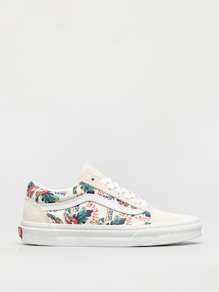 Boty Vans Old Skool (spring daze jungle/marshmallow)