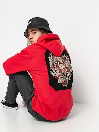Mikina s kapucí Volcom Fa HD (carmine red)