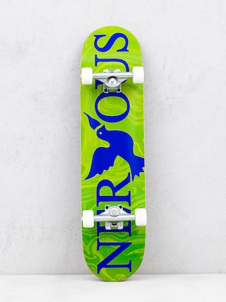 Skateboard Nervous Classic Logo (green)