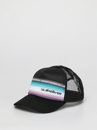 Ku0161iltovka  Quiksilver Sun Faded Trucker ZD (black)