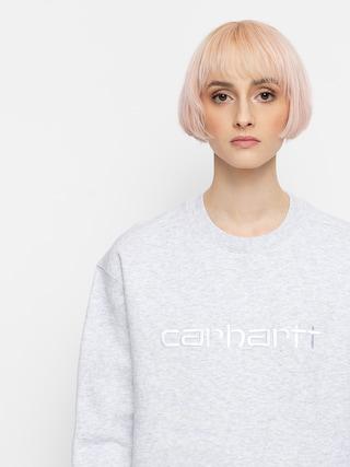 Mikina Carhartt WIP Sweat Wmn (ash heather/white)
