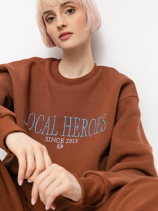 Mikina Local Heroes Lh 2013 Wmn (chocolate brown)
