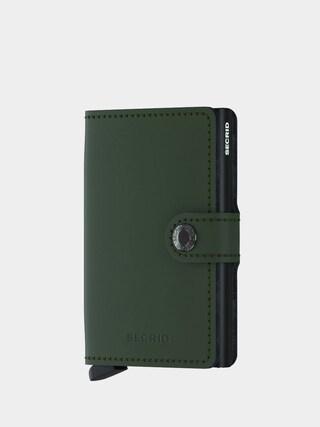 Peněženka Secrid Miniwallet (matte green/black)