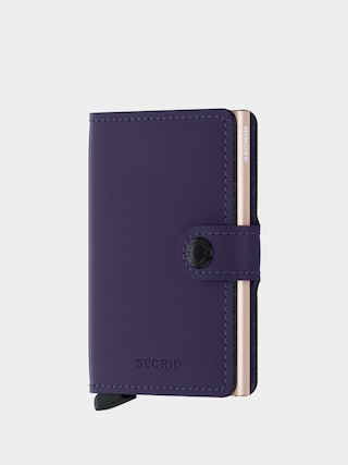 Penu011bu017eenka Secrid Miniwallet (matte purple/rose)