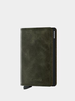 Peněženka Secrid Slimwallet (vintage olive/black)