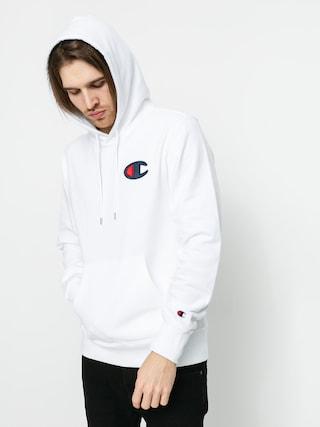 Mikina s kapucu00ed Champion Sweatshirt HD 214184 (wht)