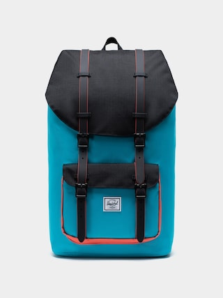 Batoh Herschel Supply Co. Little America (blue bird/black/emberglow)