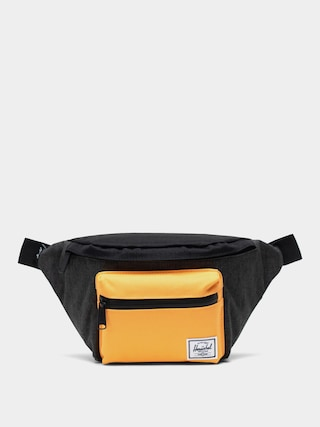 Ledvinka Herschel Supply Co. Seventeen (black crosshatch/black/blazing orange)
