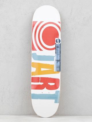 Deska Jart Classic (white/red/blue)