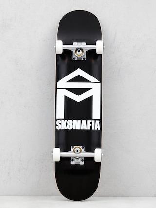 Skateboard Sk8Mafia House Logo (black)
