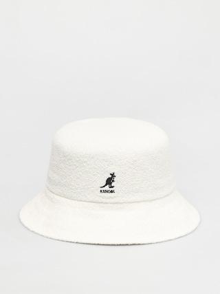 Klobouk Kangol Bermuda Bucket (white)