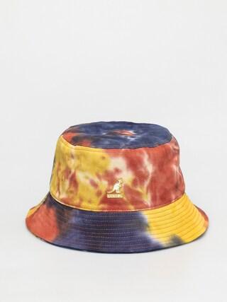 Klobouk Kangol Tie Dye Bucket (golden palm)
