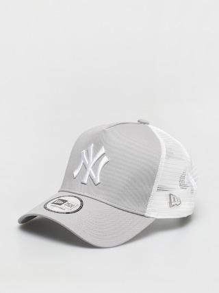 Kšiltovka  New Era Clean Trucker New York Yankees ZD (grey)