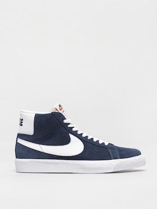 Boty Nike SB Zoom Blazer Mid (navy/white black university red)