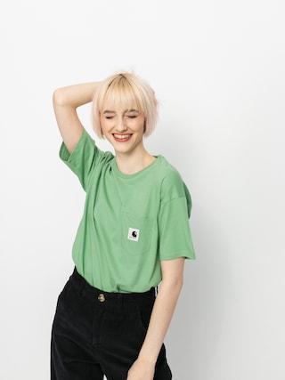 Tričko Carhartt WIP Pocket Wmn (mineral green)