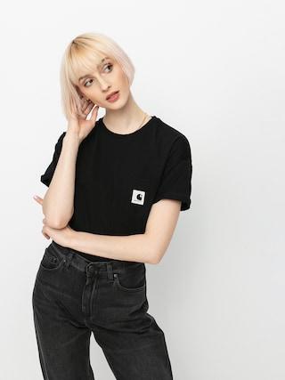 Tričko Carhartt WIP Pocket Wmn (black)