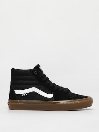 Boty Vans Skate Sk8 Hi (black/gum)