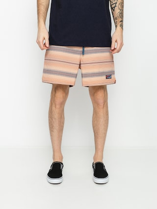 Plu00e1u017eovu00e9 krau0165asy Patagonia Stretch Wavefarer Volley Shorts 16in (rotation/mellow melon)