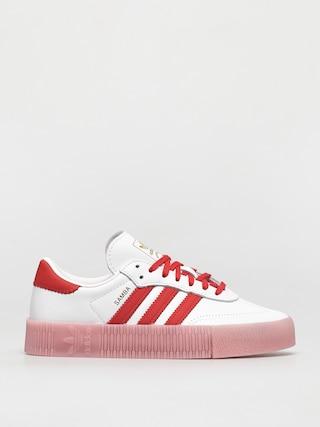 Boty adidas Originals Sambarose Wmn (ftwwht/vivred/trupnk)