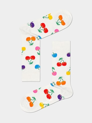 Ponou017eky Happy Socks Cherry (white)