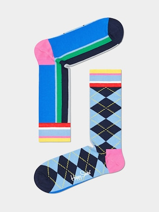 Ponožky Happy Socks Argyle And Stripe (assorted)