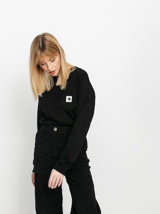 Triko Carhartt WIP Pocket Wmn (black)