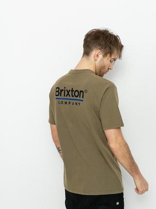 Triu010dko Brixton Palmer Line Stt (worn wash military olive)